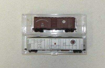 2 x AJCC/InterMountain N Scale Northern Pacific Freight Cars