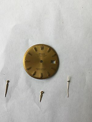 Vintage Rolex Dials X 2(Oyster Perpetual Date and Oyster Perpetual Dejust