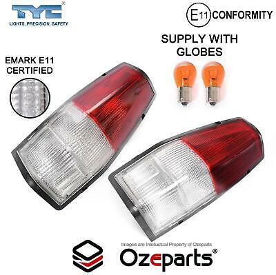 Pair LH+RH Tail Light Clear For Ford Falcon XD XE XF XG XH Ute Panel Van 81~98