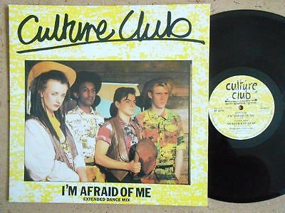"CULTURE CLUB I'm Afraid Of Me - EX/EX Cond 1982 Second Virgin 12"" Single"
