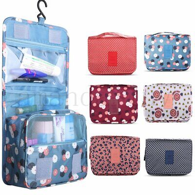 3 PCS Cosmetic Makeup Toiletry Clear PVC Organizer Travel Wash Bag Holder Set