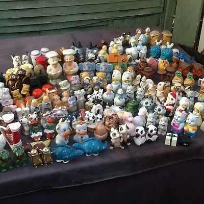 One Hundred and Eleven Salt and Pepper Shakers Pots Cruets