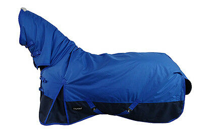 CHONMA 6'3'' 1680D 250G Winter Waterproof BreathableTurnout Horse Rug Combo-A36m