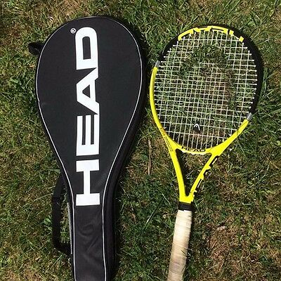 Head Extreme Elite Tennis Racket And Case Lovely Condition