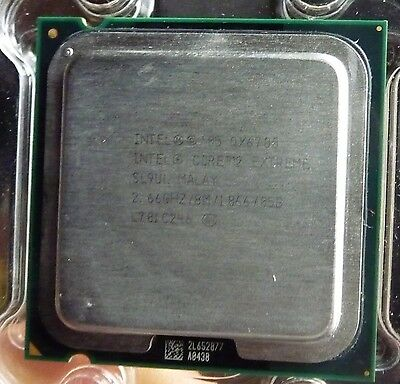 Intel Core 2 Extreme 4 coeurs - QX6700 2,66 GHz - Socket 775