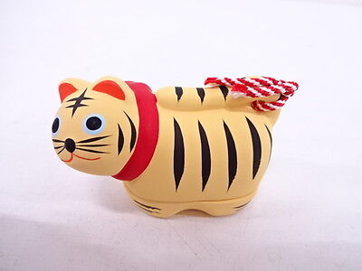 82549# Japanese Tea Ceremony / Kogo (Incense Container) / The Tiger