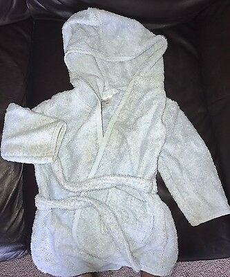 Baby Boys Towelling Robe 12-18 Months