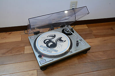 Technics SL-1200MK2 silver color Analog Turntable w/ Cartdige