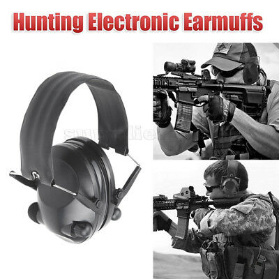 Foldable Shooting Hunting Electronic Earmuffs Ear Muffs Hearing Protection