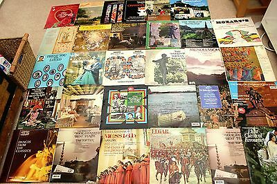 Classical Job Lot Of 30 X Different Lp's All Untested By Various Artists