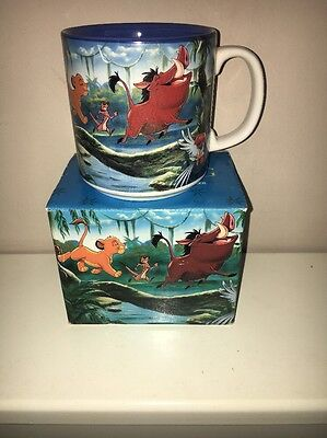 Boxed Disney Store exclusive Classics Mug The Lion King Coffee Cup