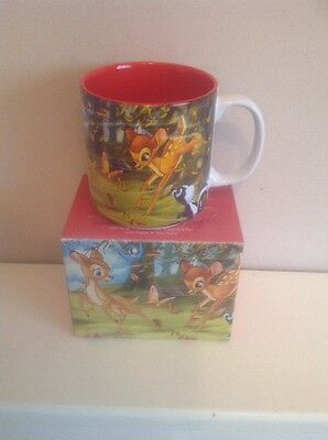 Boxed Disney Store exclusive Classics Mug Bambi 2005 Coffee Cup