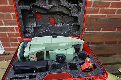 "Leica TCRA1101 Plus 1"" Motorized Auto Target Total Station"