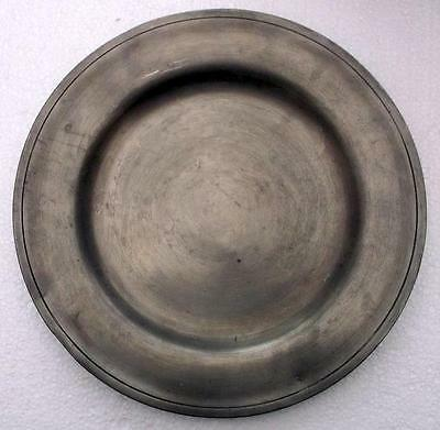 Nice Old French Pewter Plate