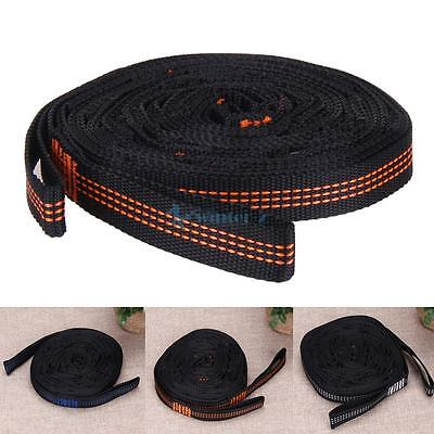 New 2Pcs Outdoor Strong Hammock Strap Belt Traveling Portable Hanging Tree Rope