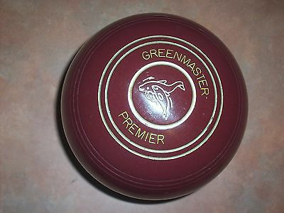 "Greenmaster PREMIER Size 3H WB16 ""G"" Series Maroon Plain Gripped"