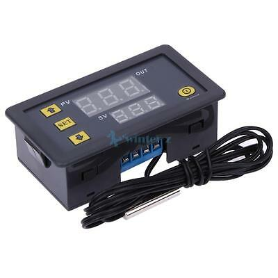 DC 12V Digital Temperature Controller (Red And Blue Display) W3230 20 A NEW UK