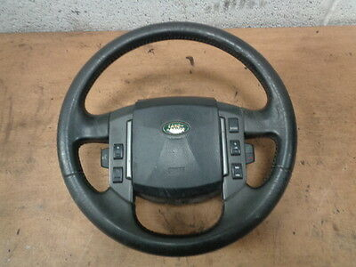 Land Rover Discovery 3 Tdv6 Leather Steering Wheel  Air Bag + Control Buttons