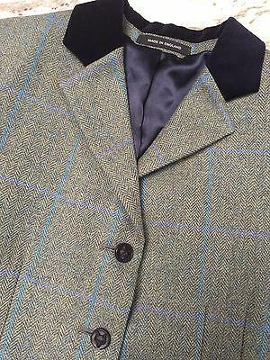 """Beautiful Pytchley Mears Wool Tweed Show Jacket Size Ladies 34"""""""