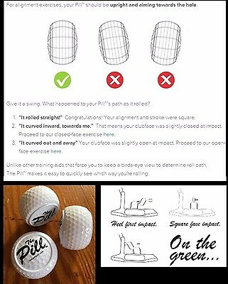 Pallina The Pill™ training ball golf aid
