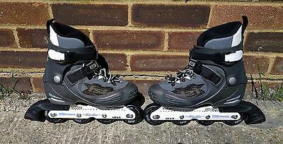 Salomon Ladies Women Roller Blades Inline Skates Size UK 6.5, EUR 40 1/3