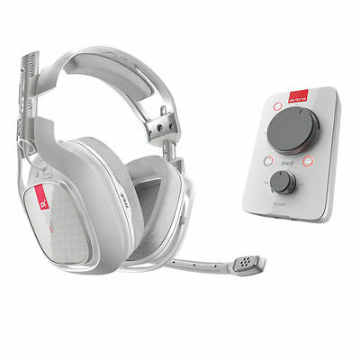 ASTRO A40 TR + MixAmp PRO TRWired Headset White for Xbox One / PC / Mac NEW