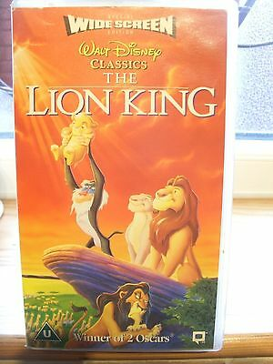 The Lion King Walt Disney Classics.. Pal - Vhs Rating Universal  Video