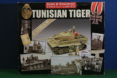 King And Country Ww11 Tunisian Tiger Tank