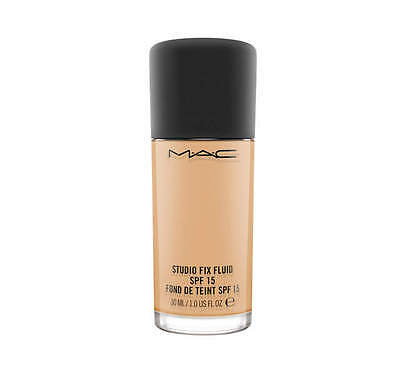 MAC Studio Fix Foundation Fluid SPF15 VARIOUS SHADES 30ml