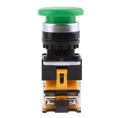 22mm Panel Mounting Pushbutton N/C Arrow Up Down Start Stop Green LA38-11M