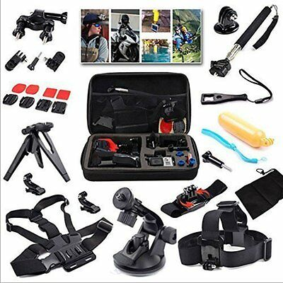 15-in-1 Gopro Accessories Kit for GoPro HERO 5 4 3+/3/2/1 Sports Cameras