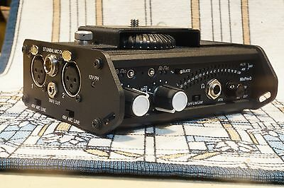 Sound Devices MixPre-D compact Field Mixer with Camera Mount