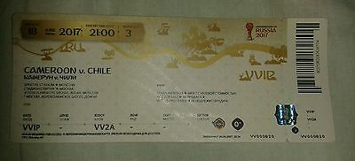 Ticket 2017 Fifa Confed Cup #3 Cameroon - Chile Kamerun Chile 18.06.17 TOP