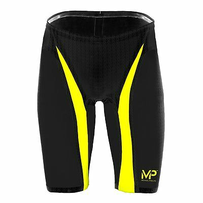Michael Phelps XPRESSO Jammer- Jammers- Black/Yellow