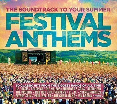 FESTIVAL ANTHEMS (Various) 3 CD SET (2017)