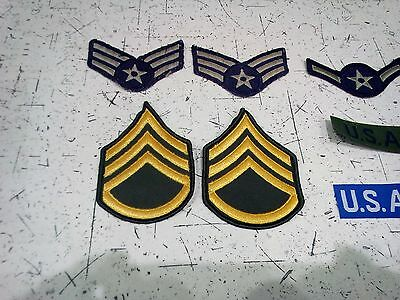 US Army US Airforce Badges Patches Insignia USAF WW2 WWII