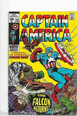 Captain America #132 Bronze Age Marvel Comics 2nd Appearance Bucky Barnes F+