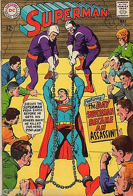 Superman #206 Silver Age DC Comics F