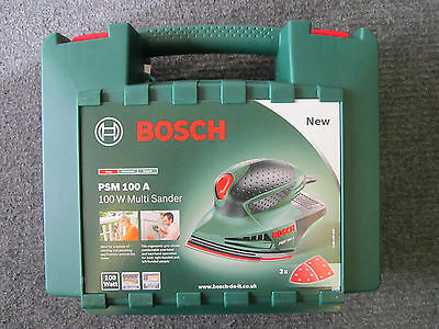 Genuine Empty Carry Case for 240V Bosch PSM 80 A PSM80A Multi Sander
