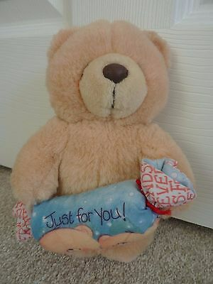 Forever Friends Bear with Christmas Cracker