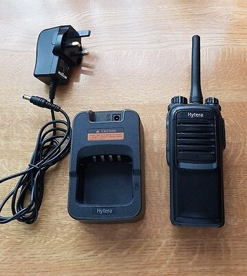 Hytera PD 705 uhf 2 way radio. Analogue and digital.