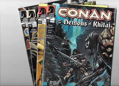 Conan and the Demons of Khitai #1 2 3 4 Dark Horse NM-