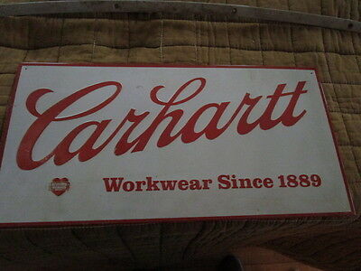Authentic Vintage Carhartt Store Sign