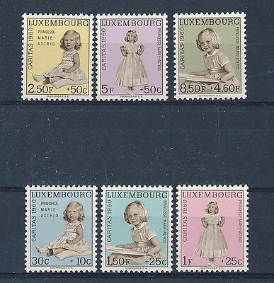 D128830 Princess Marie Astrid Caritas 1960 MNH Luxembourg