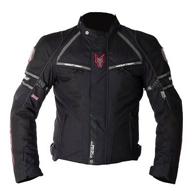 Wolf Titanium 2090 Motorcycle Motorbike Waterproof Textile Sports Jacket NEW
