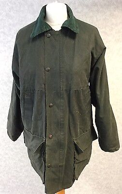 Black Horse, Size S/ Uk 14-16, Ladies, Green, Wax Jacket