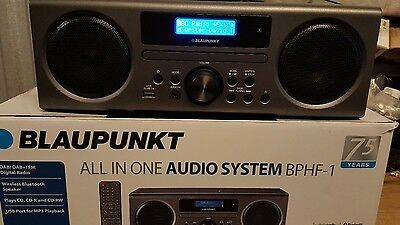 Blaupunkt BPHF-1RAll-In-One Hi-Fi with Bluetooth, USB, DAB/FM Radio-READ