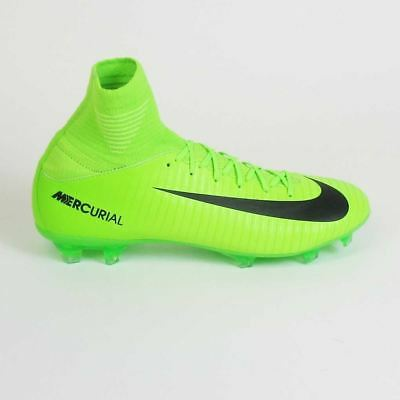 NIke Junior Mercurial Superfly V FG  Soccer Cleats-Electric Green