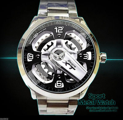 New rare Bike Cycle Shimano Deore Xt Performance for sport metal watch
