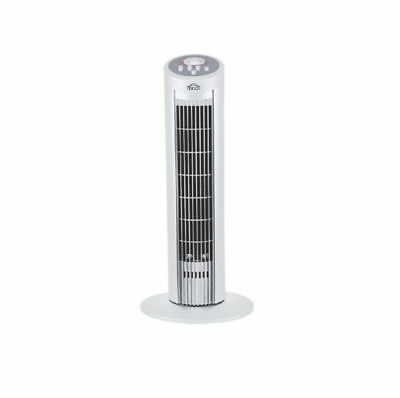 DCG Column Tower Cooling Fan In White - 3 Speed - Oscillating - Timer - 50W  NEW